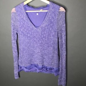 Anthropologie Knitted & Knotted Medium Long Sleeve